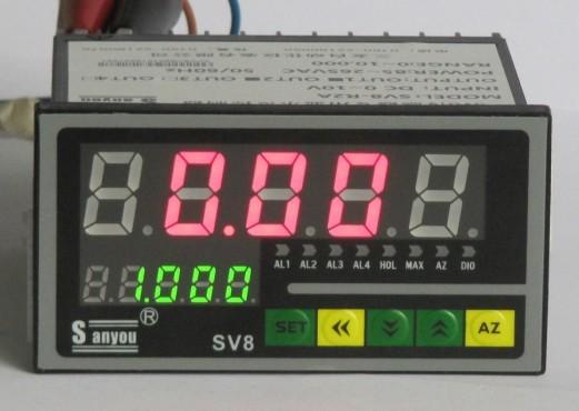 title='五位数高精度称重传感器专用控制仪表'