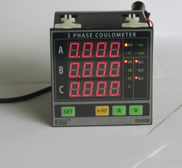 title='DW9三相功率表,DW9三相电量表'